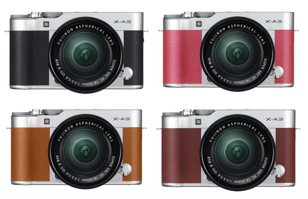 fotocamera mirrorless Fujifilm X-A3
