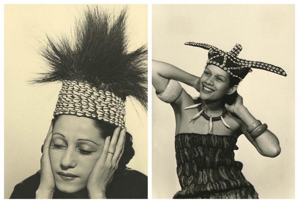 Man Ray: ritratto di donne con copricapo