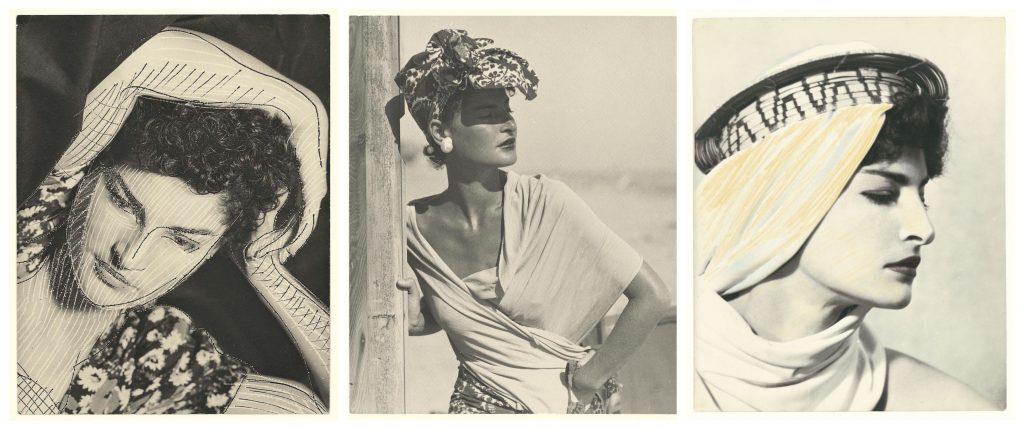 Man Ray: Ritratto di donna con cappello.
