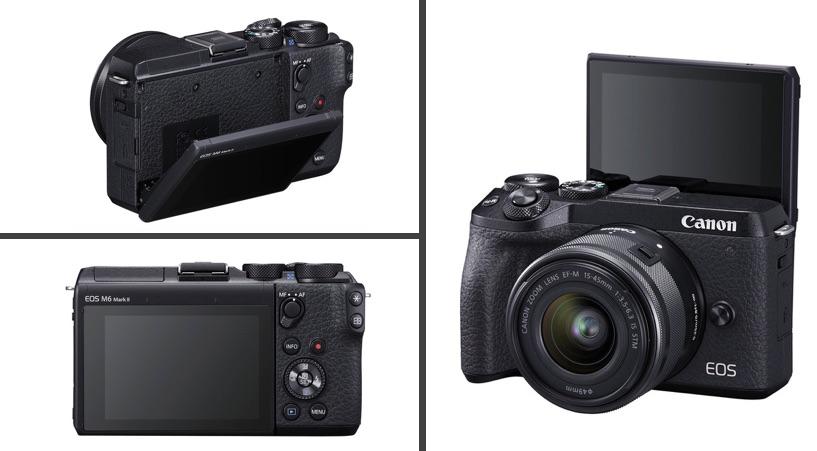 recensione Canon M6 Mark II