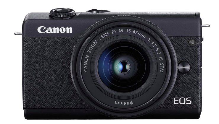 Canon EOS m100 e obiettivo EF-M 15-45 mm