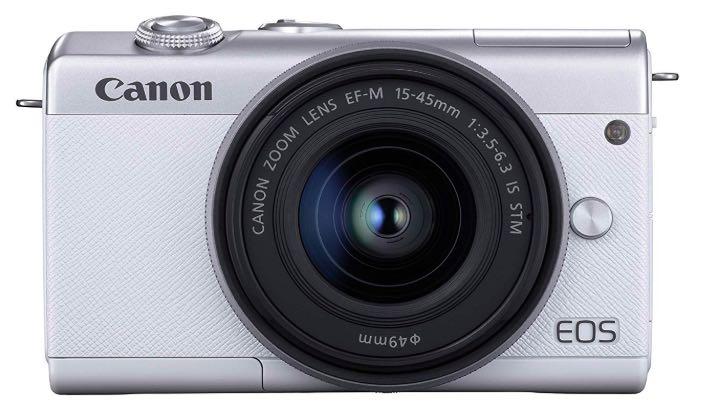 Canon eos M100 bianca