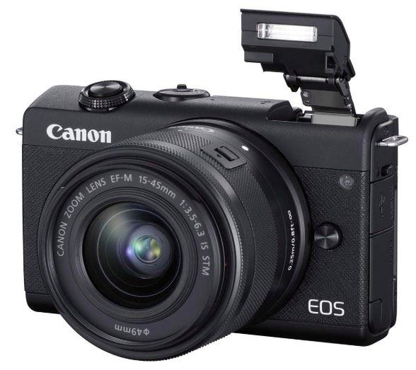 Flash incorporato della Canon m200