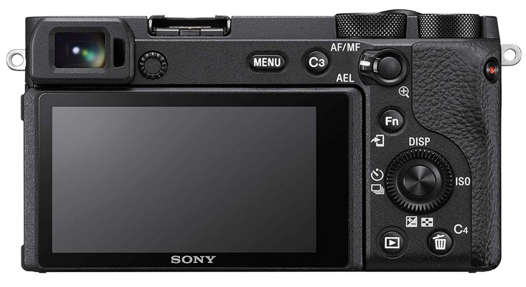 Sony A6600 vista dal retro
