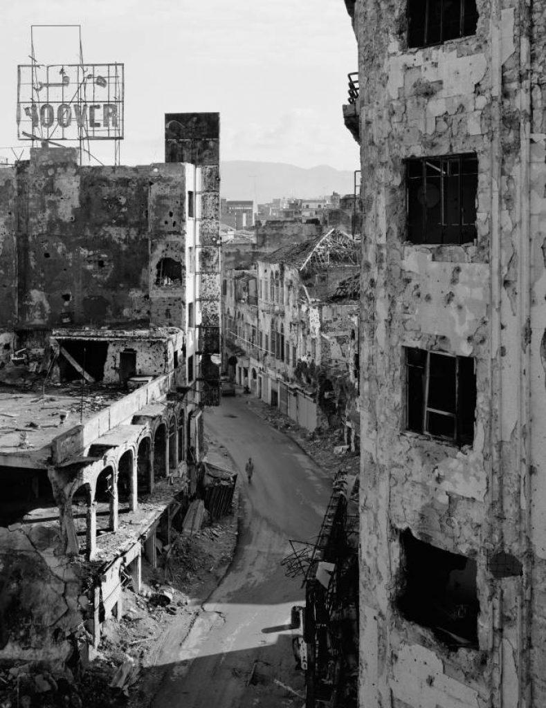 Beirut-1991: foto di Gabriele Basilico