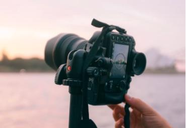 attrezzatura per fotografia di paesaggio