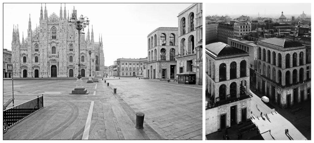 Milano; foto di Gabriele Basilico