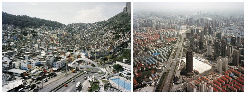 Rio e Shangai: foto di Gabriele Basilico