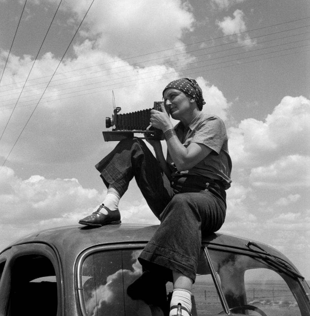 Ritratto Dorothea Lange