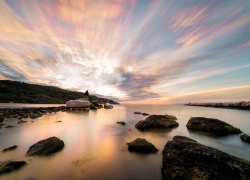 Come applicare la tecnica dello Startrail ad una foto di un tramonto