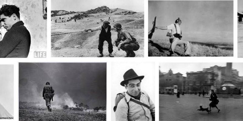 Robert Capa, il fotografo delle cinque guerre