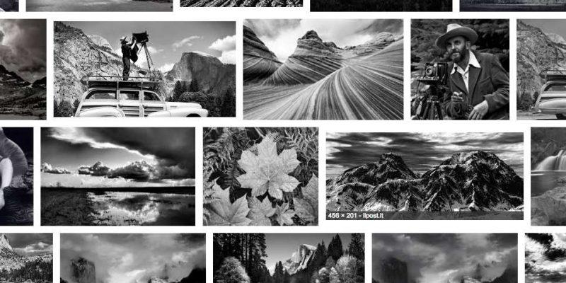 Ansel Adams: emozioni in bianco e nero