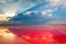 Rosso e salato: le incredibili saline del Lago di Sivaš