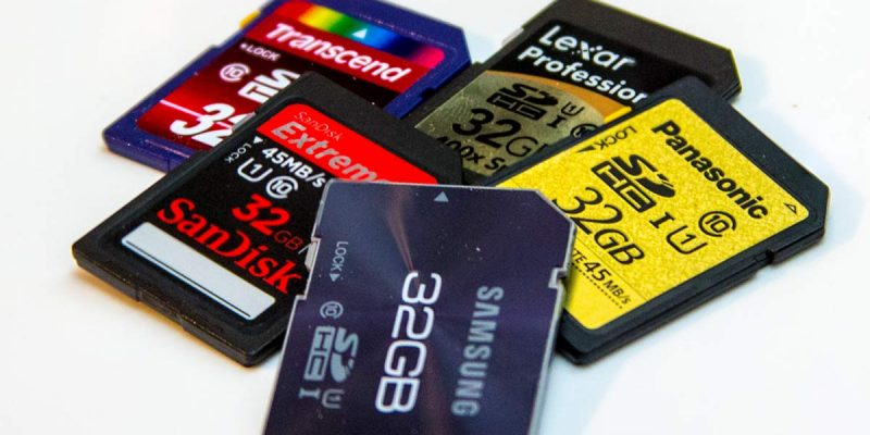 Le 10 migliori memory card per fotocamere